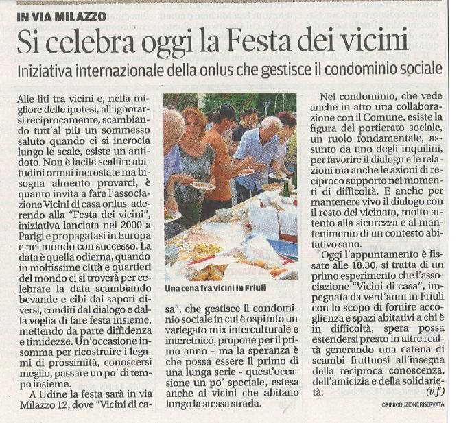 Messaggero Veneto 29.05.2015